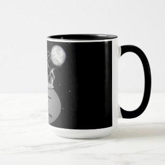 黒い月の社会のマグ マグカップ