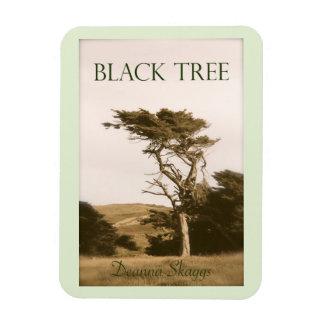 黒い木の磁石 マグネット