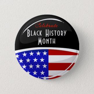 黒い歴史月のイベントを祝って下さい 缶バッジ