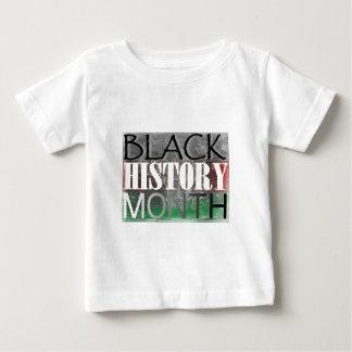黒い歴史月(アフリカの旗) ベビーTシャツ