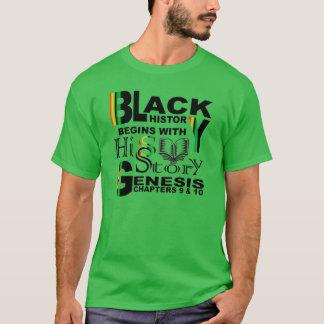 黒い歴史HiSStory Tシャツ