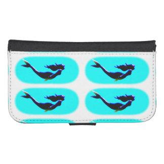 黒い水中人魚 ウォレットケース