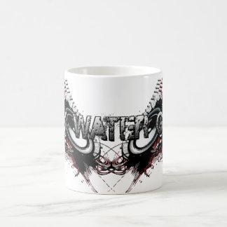 黒い水賭博のコーヒー・マグ コーヒーマグカップ