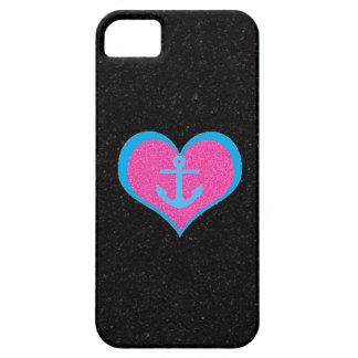 黒い氷砂糖のiPhone 5の箱の私のハートを固定して下さい iPhone SE/5/5s ケース