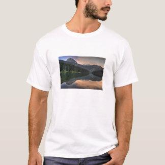 黒い湖 Tシャツ