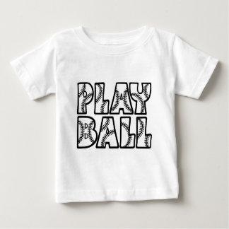 黒い演劇の球 ベビーTシャツ