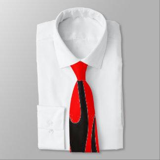 黒い炎(赤いBaphomet) ネクタイ