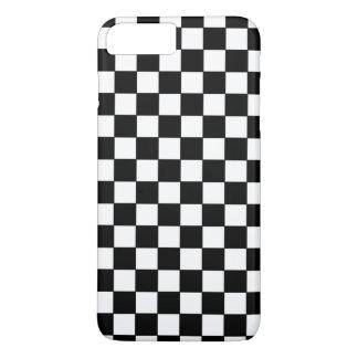 黒い点検パターン iPhone 8 PLUS/7 PLUSケース