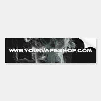黒い煙のVapeの店のウェブサイトは促進します バンパーステッカー