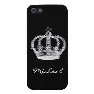 黒い王冠 iPhone SE/5/5sケース