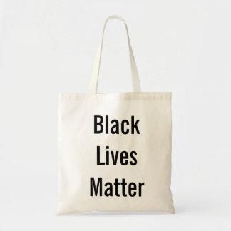黒い生命問題のトートバック トートバッグ