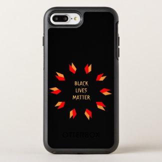 黒い生命問題 オッターボックスシンメトリーiPhone 8 PLUS/7 PLUSケース