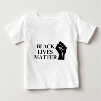 黒い生命問題 ベビーTシャツ