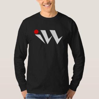 黒い病気のロゴのTシャツ Tシャツ