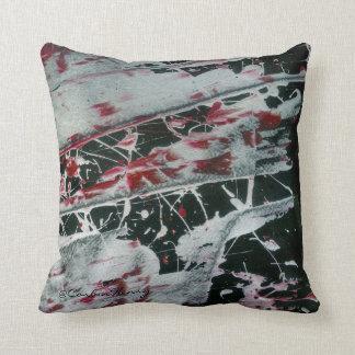 黒い真珠の枕 クッション