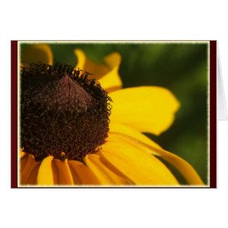 黒い瞳のスーザンの挨拶 カード