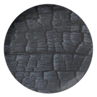 黒い石炭 プレート