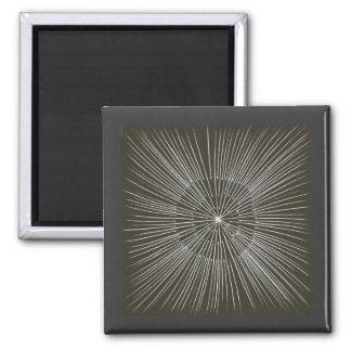 黒い磁石の白い脈動の打撃 マグネット