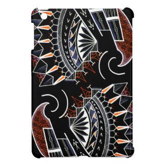 黒い種族の芸術の原生のオーストラリアのスタイル iPad MINIカバー