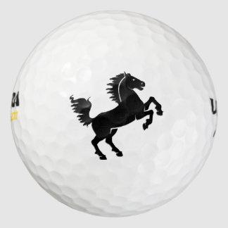 黒い種馬のゴルフ・ボール ゴルフボール