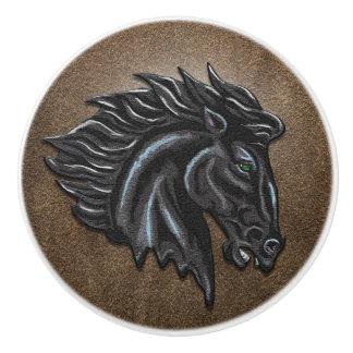 黒い種馬 セラミックノブ