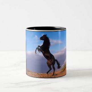 黒い種馬 ツートーンマグカップ