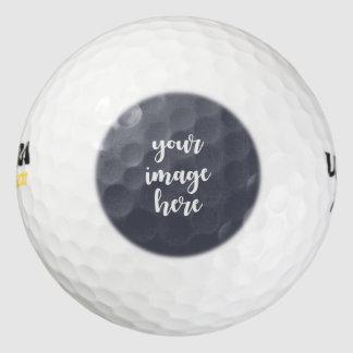 黒い紫色の煙のテンプレートはあなた専有物を作成します ゴルフボール