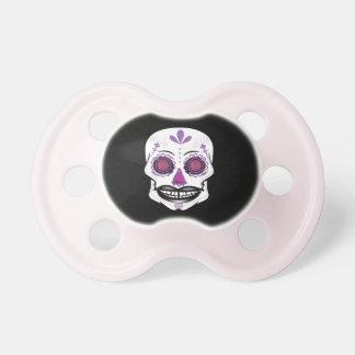 黒い紫色キャンデーのスカルの調停者 おしゃぶり