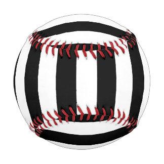 黒い縦ストライプ ベースボール