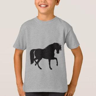 黒い美しいのTシャツ Tシャツ