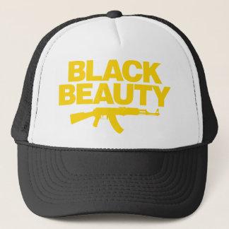 黒い美しいAK -黄色 キャップ