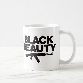 黒い美しいAK -黒 コーヒーマグカップ