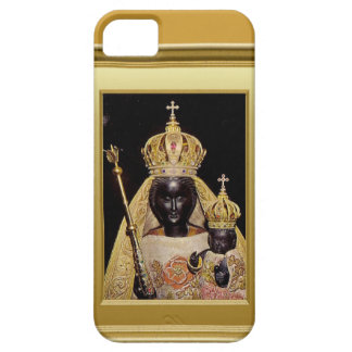 黒い聖母マリアおよび子供イエス・キリスト iPhone SE/5/5s ケース