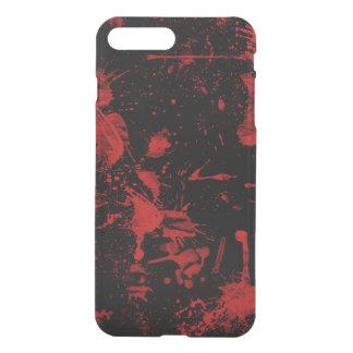 黒い背景の赤い点 iPhone 8 PLUS/7 PLUS ケース