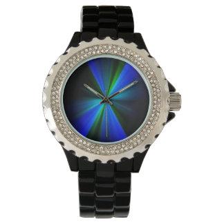 黒い腕時計 腕時計