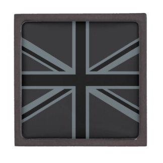 黒い英国国旗のイギリスの旗の装飾 ギフトボックス