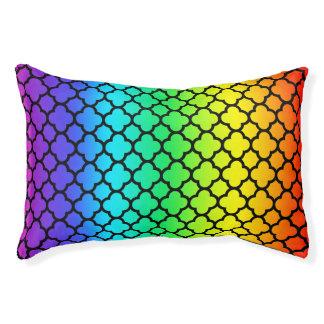 黒い虹のクローバーパターン