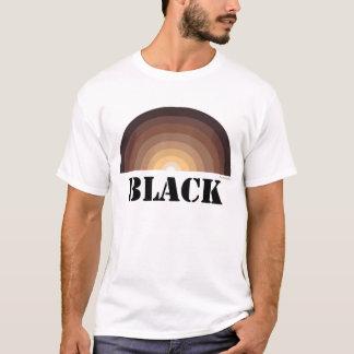 黒い虹のTシャツ Tシャツ