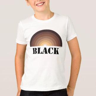 黒い虹はTシャツをからかいます Tシャツ