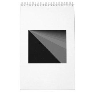 黒い虹及びデジタル境界2017のカレンダー カレンダー
