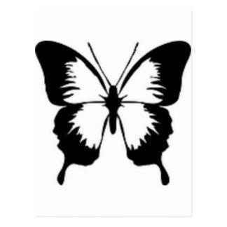 黒い蝶 ポストカード