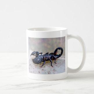 黒い蠍 コーヒーマグカップ