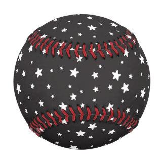 黒い野球の白い星 ベースボール