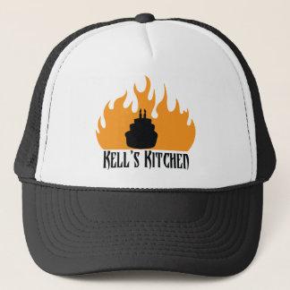 黒い野球帽 キャップ