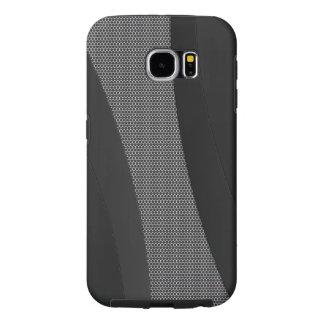 黒い金属のミニマルな質感 SAMSUNG GALAXY S6 ケース