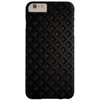 黒い金属の質感 iPhone 6 PLUS ベアリーゼアケース