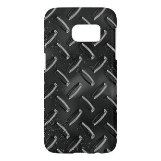 黒い金属の質感 SAMSUNG GALAXY S7 ケース