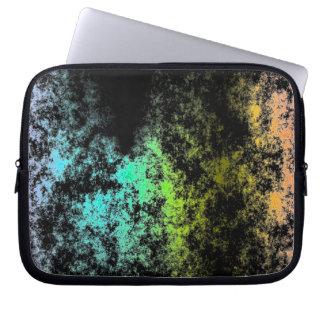 黒い銀河系の雲の銀河系の宇宙の虹 ラップトップスリーブ