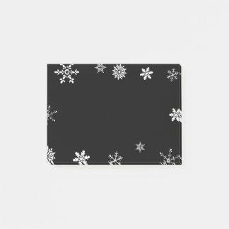 黒い雪片 ポストイット