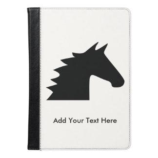 黒い馬頭部 iPad AIRケース